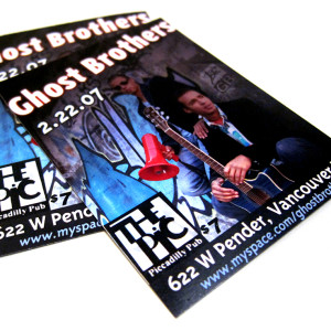Event Flyer - Ghost Brothers