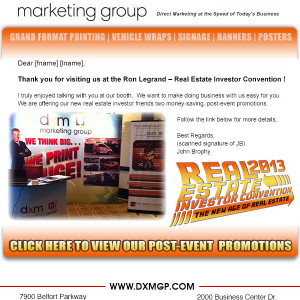 Email Campaign - DXM