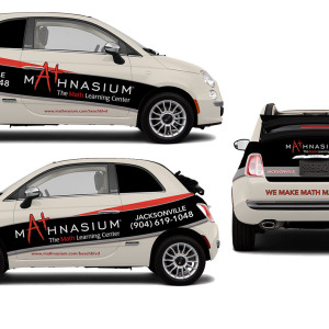Mathnasium Vehicle Wrap