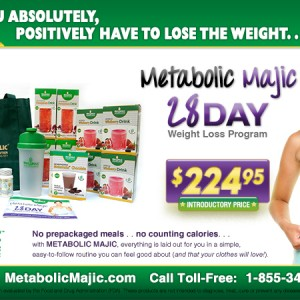 Half Page magazine ad concept for Metabolic Research Cemter Web Store.