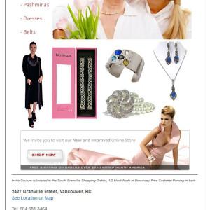 Email Campaign - Invito Couture