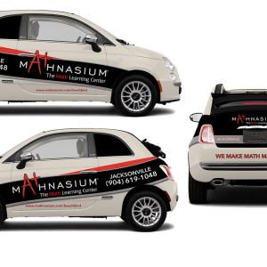 Mathnasium Vehicle Wrap