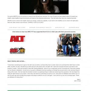 MRC FIT: E-Commerce Website