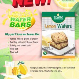 Email Marketing - Metabolic Web Store, Lemon Wafer Bars