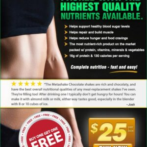 Email Marketing - Metabolic Web Store, Metashake