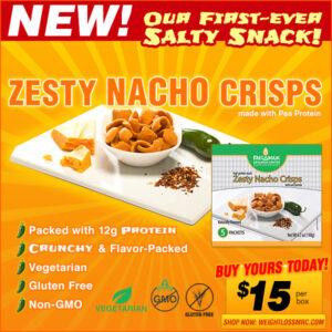 Email Marketing - Metabolic Web Store, Zesty Nacho Crisps